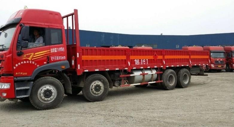 2类钢瓶装易燃气体运输车