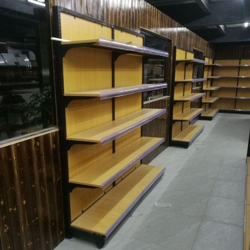 钢木超市货架8