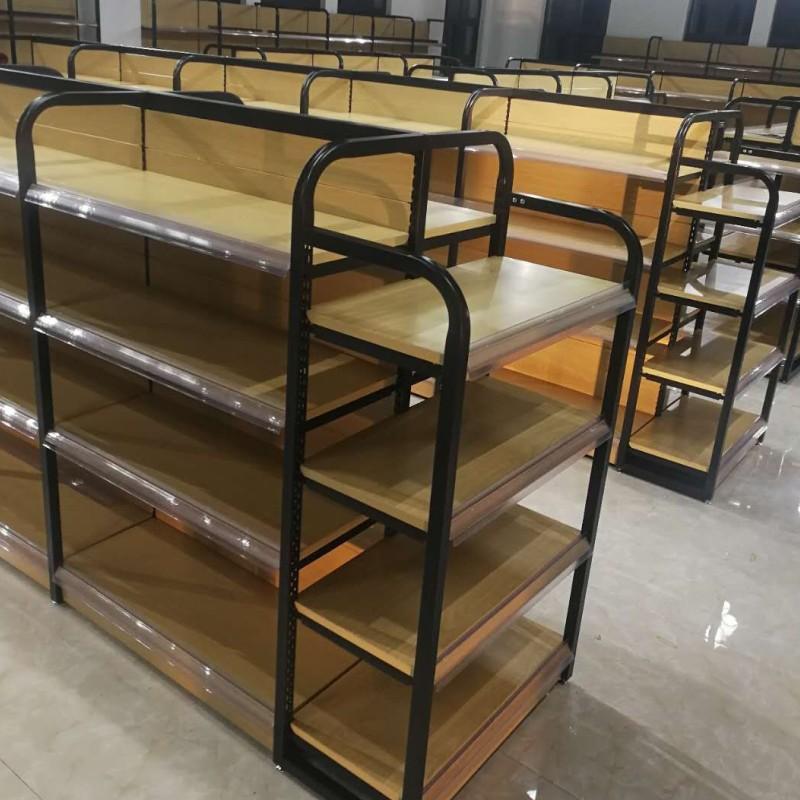 钢木超市货架7