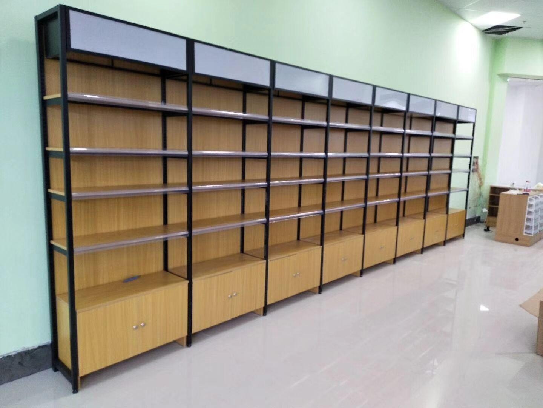 钢木超市货架5