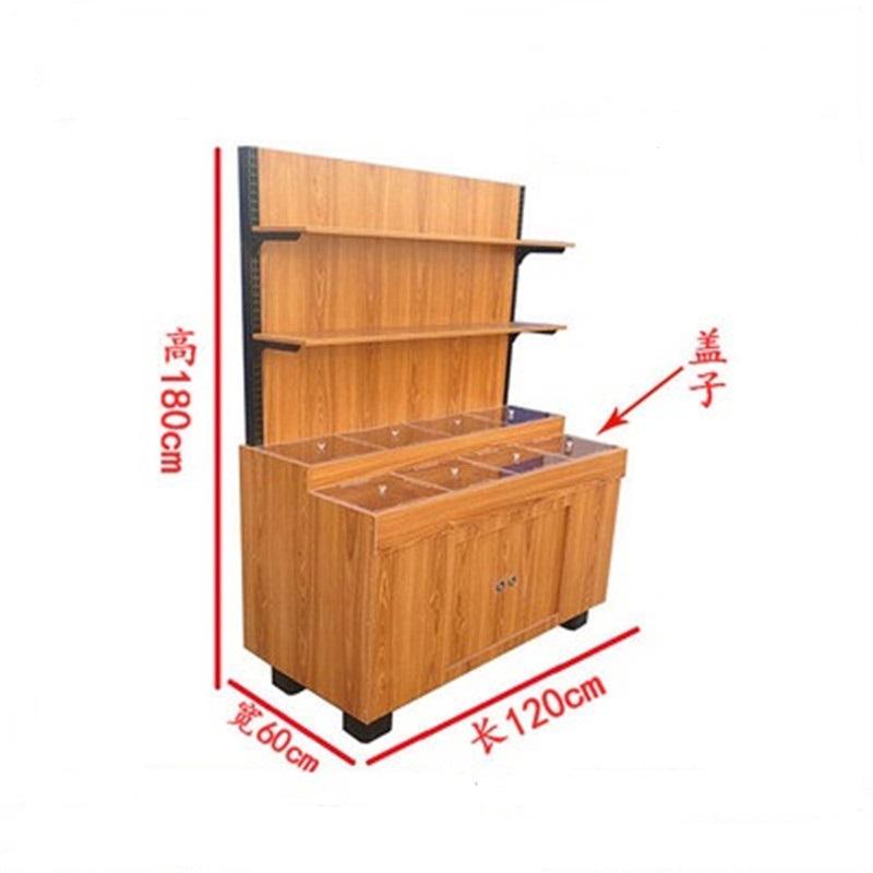 钢木超市货架3
