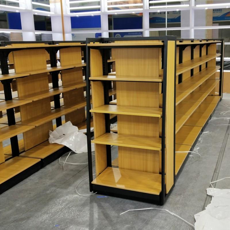 钢木超市货架1