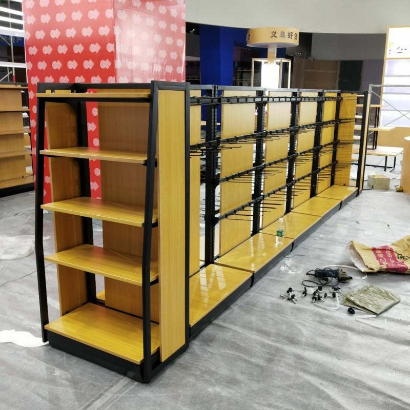 钢木超市货架2