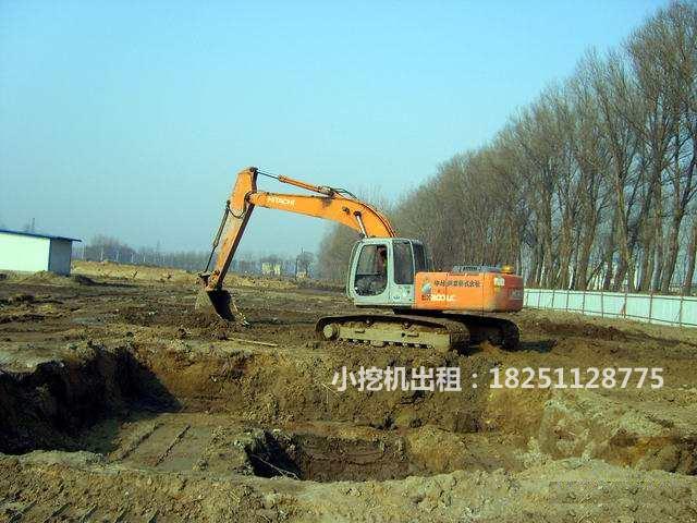 苏州小挖机租赁