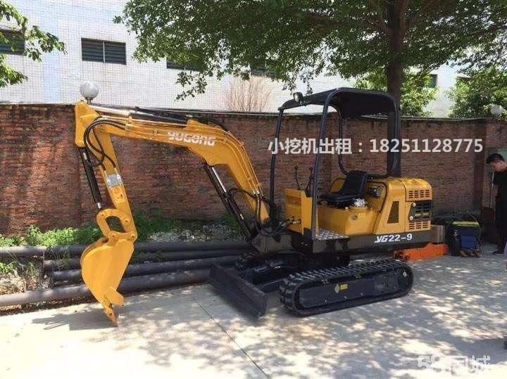 苏州微型小挖机租赁服务