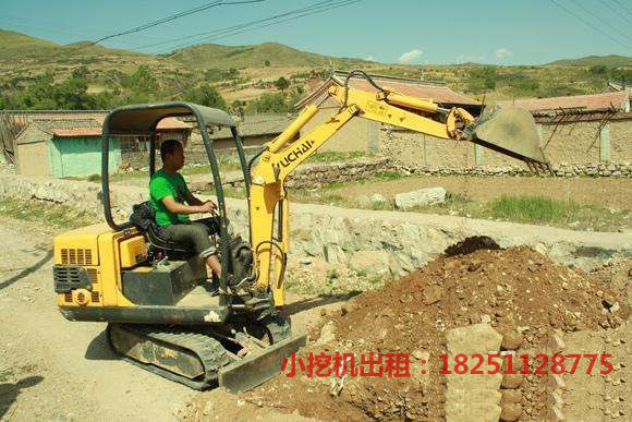 各类小挖机租赁