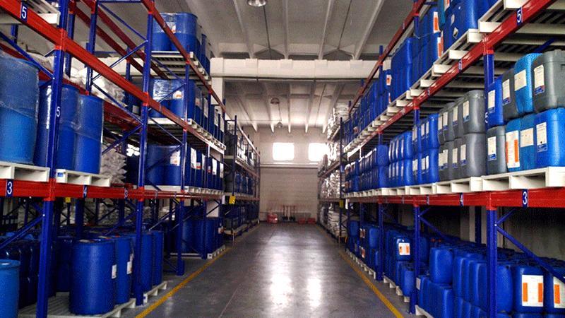 化工行业货架应用